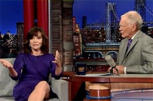 Sally Field on David Letterman Show