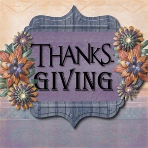 Thanks - giving