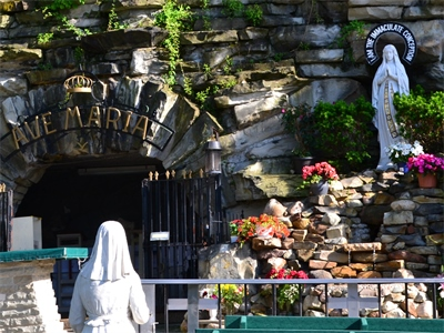 Our Lady of Lourdes Shrine Euclid Ohio