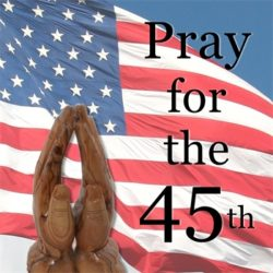 pray for the 45th