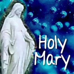Holy Mary Showering Us with Love and Healing